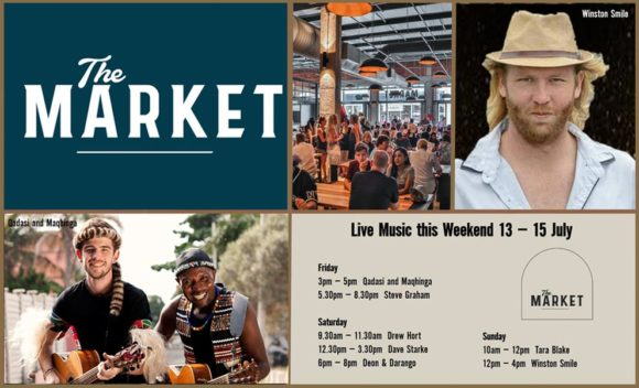 MUSIC @ THE MARKET – 13TH – 15TH JULY