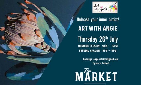 ART @ ANGIES – 26 JULY 2018
