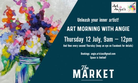 ART @ ANGIES – 12 JULY 2018