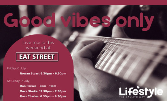 Good Vibes Only – 6 & 7 July 2018