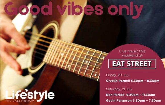 GOOD VIBES ONLY – 20 & 21 JULY 2018