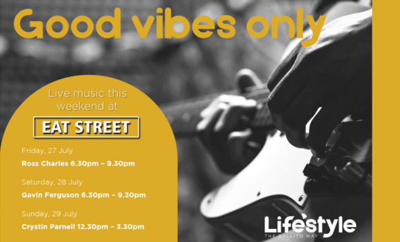 GOOD VIBES ONLY – 27 & 29 JULY 2018