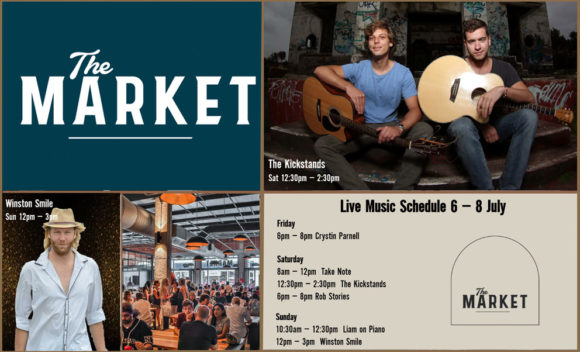 Music @ The Market – 6th – 8th July