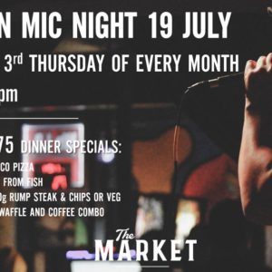 Open Mic Night – 19 July 2018