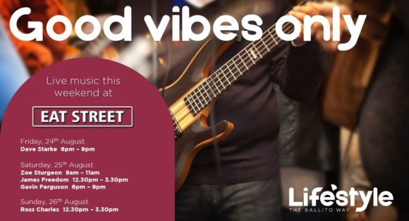 GOOD VIBES ONLY!! 24-26 AUGUST 2018