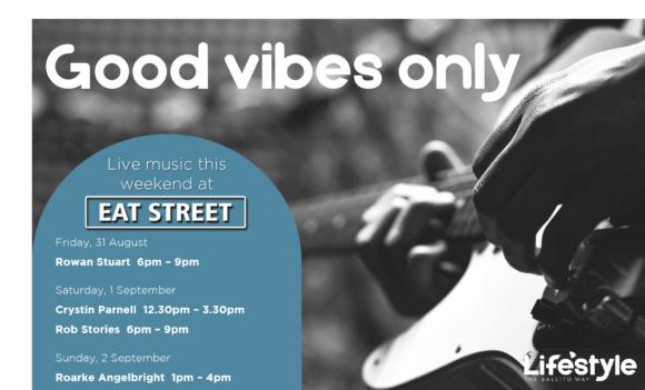 Good Vibes Only – 31st August – 2nd September