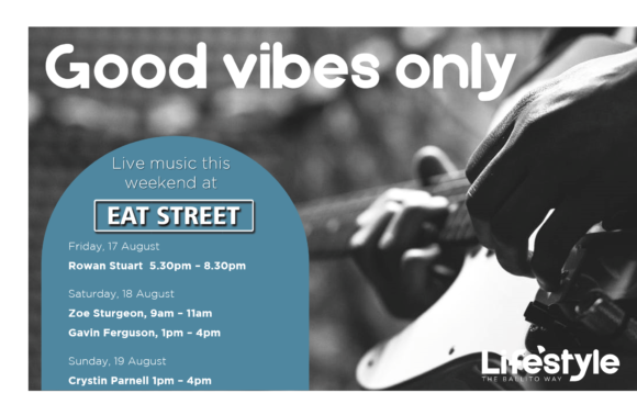 GOOD VIBES ONLY 17 – 19 AUGUST 2018