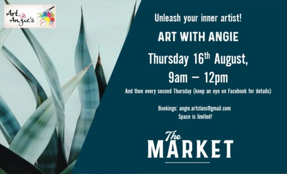 ART @ ANGIES – 16 AUGUST 2018