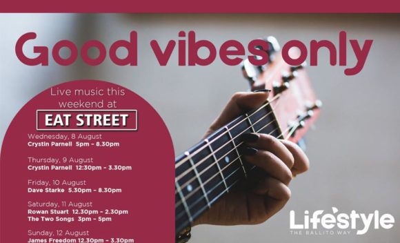 GOOD VIBES ONLY – 8 – 12 AUGUST 2018