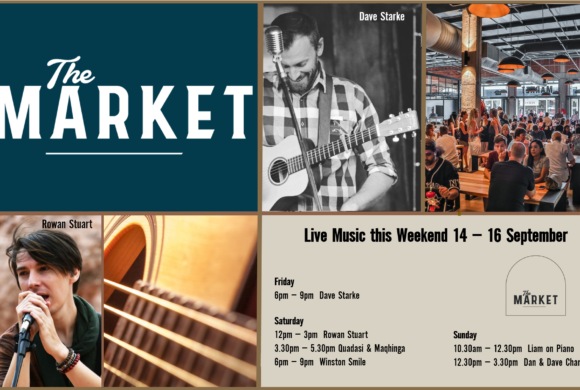MUSIC @ THE MARKET –14TH SEPTEMBER – 16TH SEPTEMBER