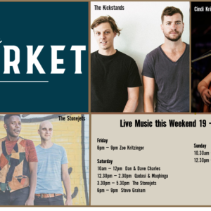 MUSIC @ THE MARKET –19TH OCTOBER – 21ST OCTOBER