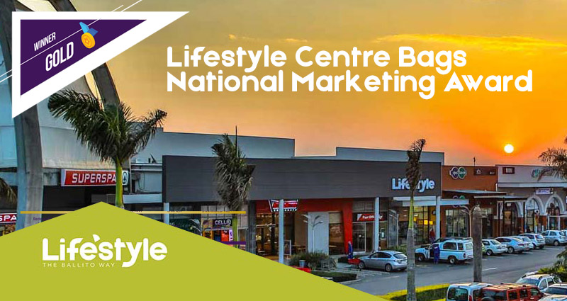 Ballito Lifestyle Centre Bags National Marketing Award