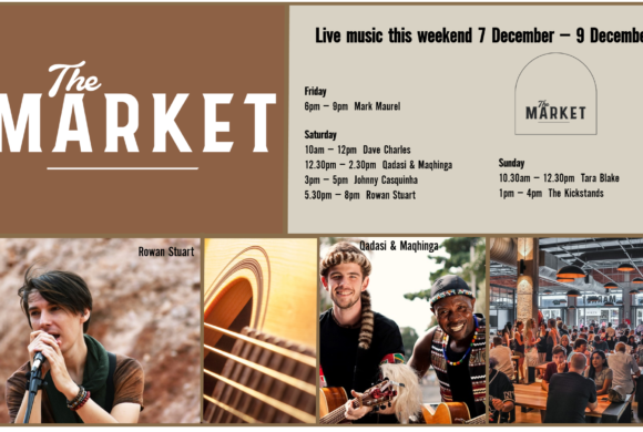 MUSIC @ THE MARKET – 7th DECEMBER – 9th DECEMBER