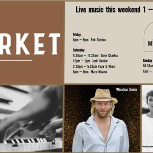 MUSIC @ THE MARKET – 1 FEBRUARY – 3 FEBRUARY