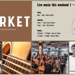 MUSIC @ THE MARKET – 1 MARCH – 3 MARCH