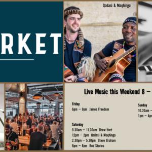 MUSIC @ THE MARKET – 8 FEBRUARY – 10 FEBRUARY