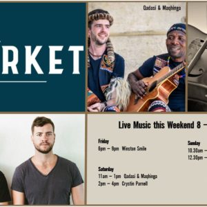 MUSIC @ THE MARKET – 8 MARCH – 10 MARCH