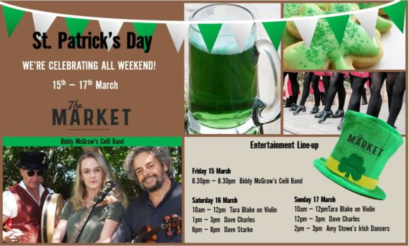 MUSIC @ THE MARKET – 15 MARCH – 17 MARCH