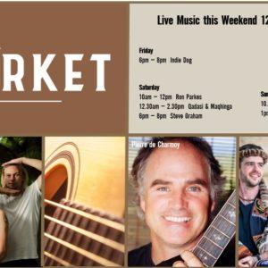 MUSIC @ THE MARKET – 12th APRIL – 14th APRIL