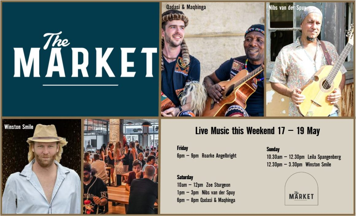 MUSIC @ THE MARKET – 17th MAY – 19th MAY