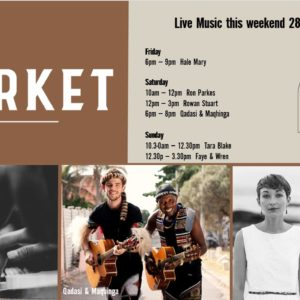 MUSIC @ THE MARKET – 28th JUNE – 30th JUNE