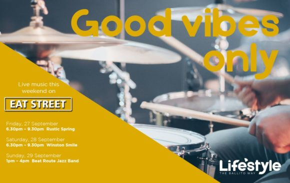 GOOD VIBES ONLY – 27TH – 29TH SEPTEMBER