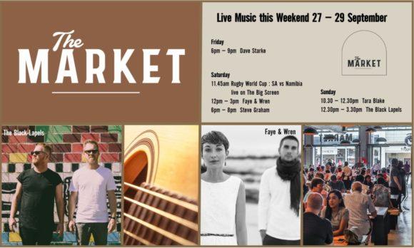 MUSIC @ THE MARKET – 27 – 29 SEPTEMBER