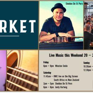 MUSIC @ THE MARKET – 20 – 22 SEPTEMBER