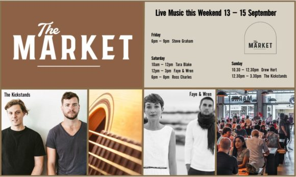 MUSIC @ THE MARKET – 13TH SEPTEMBER – 15TH SEPTEMBER