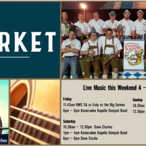 MUSIC @ THE MARKET – 4 – 6 OCTOBER