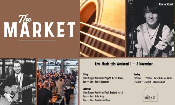 MUSIC @ THE MARKET – 1st November – 3rd November