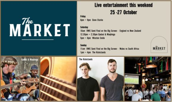 MUSIC @ THE MARKET – 25 – 27 OCTOBER