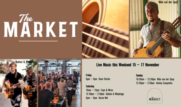 MUSIC @ THE MARKET – 15TH – 17TH NOVEMBER