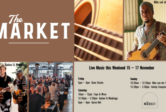 MUSIC @ THE MARKET – 15TH – 17TH NOVEMBER