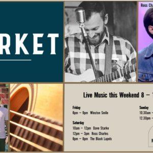MUSIC @ THE MARKET – 8TH – 10TH NOVEMBER