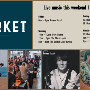 MUSIC @ THE MARKET – 13TH – 16TH DECEMBER
