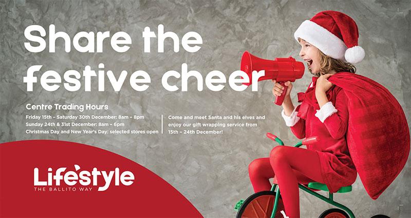 Festive season at Lifestyle Centre