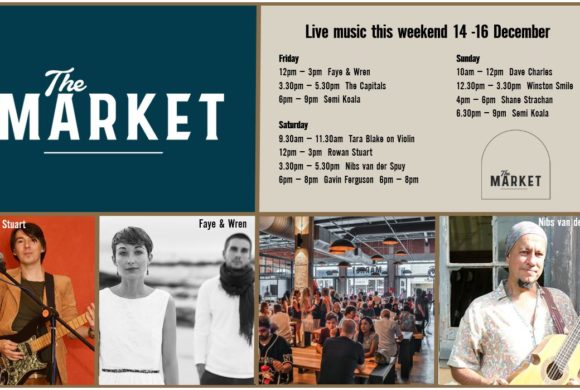 MUSIC @ THE MARKET – 14th DECEMBER – 16th DECEMBER