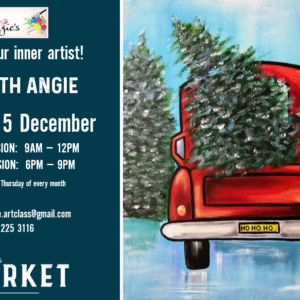 ART @ ANGIES – 5TH DECEMBER