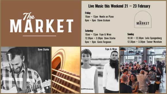 MUSIC @ THE MARKET – 21ST – 23RD FEBRUARY