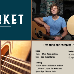 MUSIC @ THE MARKET – 7TH – 9TH FEBRUARY
