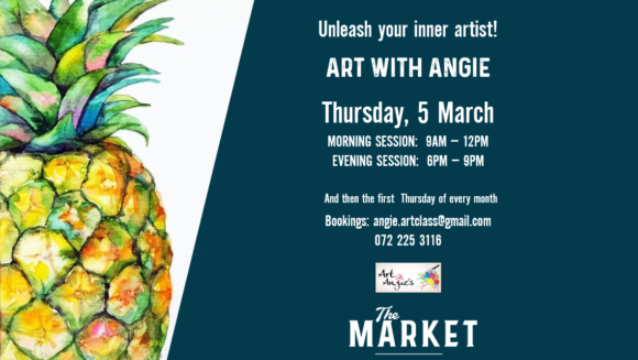 ART @ ANGIES – 5TH MARCH
