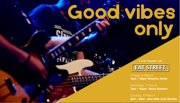 GOOD VIBES ONLY – 6TH – 8TH MARCH
