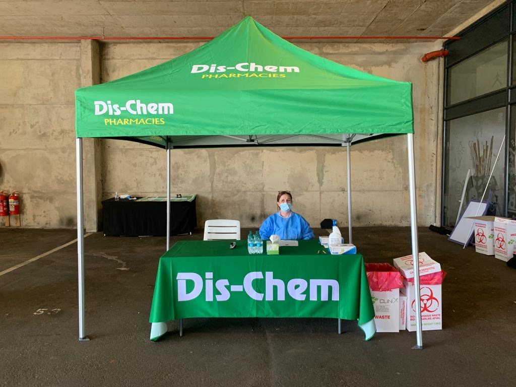 Dis-Chem launches drive-through COVID-19 testing site at Virgin Active in Ballito