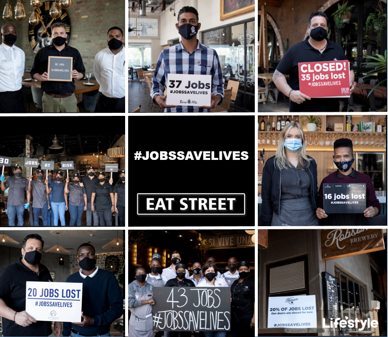 Restaurants on Eat Street take a stand