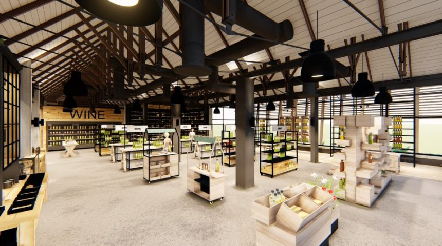 World class TOPS liquor store in the making at Lifestyle Centre