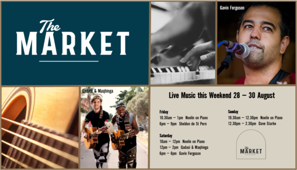MUSIC @ THE MARKET – 28 – 30 AUGUST