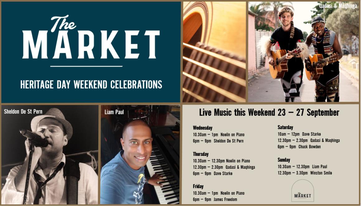 MUSIC @ THE MARKET – 23 – 27 SEPTEMBER