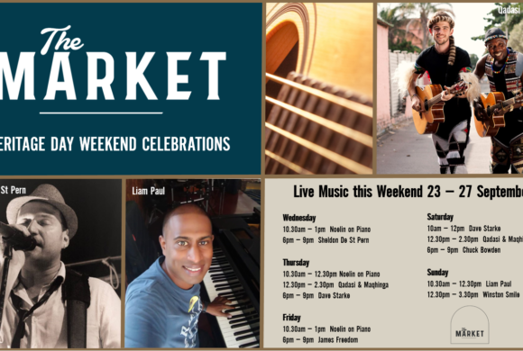 MUSIC @ THE MARKET – 23 – 27 SEPTEMBER