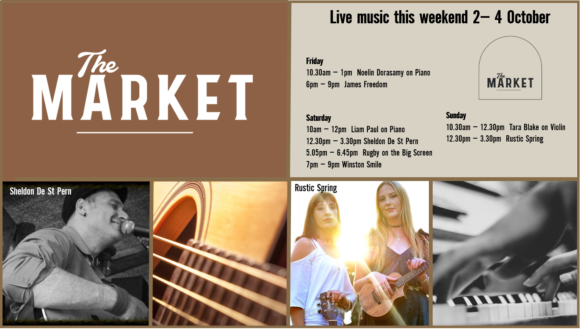 MUSIC @ THE MARKET – 2 – 4 October